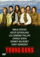 Young Guns - DVD cover (xs thumbnail)