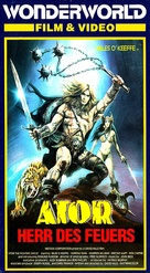 Ator l'invincibile - German VHS movie cover (xs thumbnail)