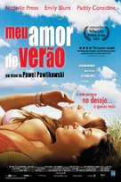 My Summer of Love - Brazilian Movie Cover (xs thumbnail)