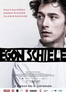 Egon Schiele: Tod und Mädchen - Czech Movie Poster (xs thumbnail)