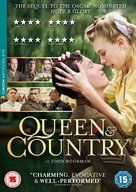 Queen and Country - British DVD cover (xs thumbnail)