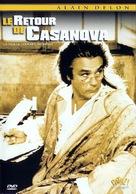 Le retour de Casanova - French DVD cover (xs thumbnail)