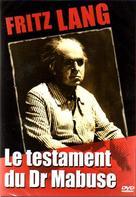 Das Testament des Dr. Mabuse - French DVD movie cover (xs thumbnail)