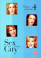 """""""Sex and the City"""" - British DVD movie cover (xs thumbnail)"""