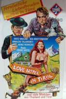 Love-Hotel in Tirol - German VHS cover (xs thumbnail)