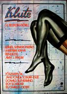 Klute - Hungarian Movie Poster (xs thumbnail)