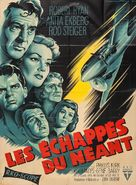 Back from Eternity - French Movie Poster (xs thumbnail)