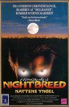 Nightbreed - Danish Movie Poster (xs thumbnail)