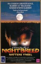 Nightbreed - Danish Movie Poster (xs thumbnail)