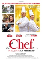 Comme un chef - Spanish Movie Poster (xs thumbnail)