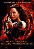 The Hunger Games: Catching Fire - Slovenian Movie Poster (xs thumbnail)
