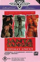 Santa sangre - Australian VHS movie cover (xs thumbnail)
