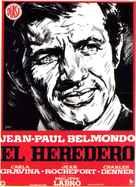 L'héritier - Spanish Movie Poster (xs thumbnail)