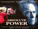 Absolute Power - British Movie Poster (xs thumbnail)