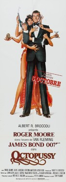 Octopussy - French Movie Poster (xs thumbnail)