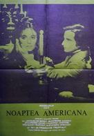 La nuit américaine - Romanian Movie Poster (xs thumbnail)