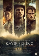 The Lost City of Z - Turkish Movie Poster (xs thumbnail)