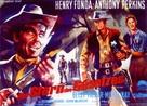 The Tin Star - German Movie Poster (xs thumbnail)