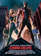 Daredevil - Danish Movie Poster (xs thumbnail)