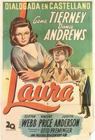 Laura - Argentinian Movie Poster (xs thumbnail)