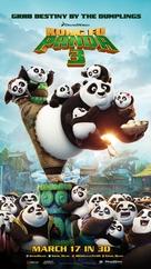 Kung Fu Panda 3 - Lebanese Movie Poster (xs thumbnail)