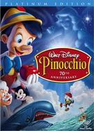 Pinocchio - DVD movie cover (xs thumbnail)