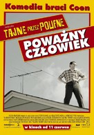 A Serious Man - Polish Movie Poster (xs thumbnail)