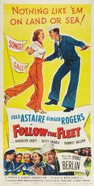 Follow the Fleet - Re-release poster (xs thumbnail)