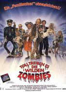 Return of the Living Dead Part II - German Movie Poster (xs thumbnail)