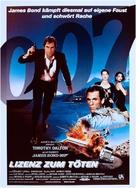 Licence To Kill - German Movie Poster (xs thumbnail)