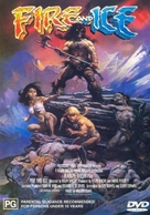 Fire and Ice - Australian DVD cover (xs thumbnail)
