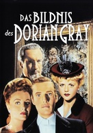 The Picture of Dorian Gray - German DVD movie cover (xs thumbnail)