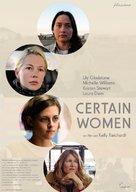 Certain Women - German Movie Poster (xs thumbnail)