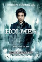 Sherlock Holmes - Argentinian Movie Poster (xs thumbnail)