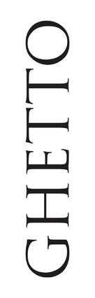 Ghetto - German Logo (xs thumbnail)
