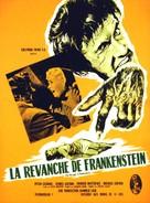 The Revenge of Frankenstein - French Movie Poster (xs thumbnail)