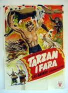 Tarzan's Peril - Swedish Movie Poster (xs thumbnail)