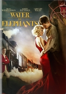 Water for Elephants - DVD cover (xs thumbnail)