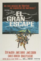The Great Escape - Argentinian Movie Poster (xs thumbnail)