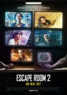 Escape Room: Tournament of Champions - Swedish Movie Poster (xs thumbnail)