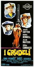 I crudeli - Italian Movie Poster (xs thumbnail)