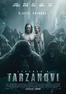 The Legend of Tarzan - Czech Movie Poster (xs thumbnail)