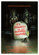 The Return of the Living Dead - Spanish Movie Poster (xs thumbnail)