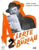 Alerte au deuxiéme bureau - French Movie Poster (xs thumbnail)