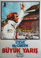 Le Mans - Turkish Movie Poster (xs thumbnail)