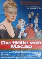Die Hölle von Macao - German Movie Poster (xs thumbnail)