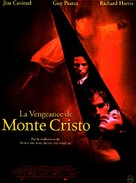 The Count of Monte Cristo - French Movie Poster (xs thumbnail)