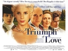 The Triumph of Love - British Movie Poster (xs thumbnail)
