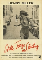 Stille dage i Clichy - German Movie Poster (xs thumbnail)