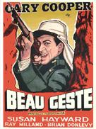 Beau Geste - Argentinian Movie Poster (xs thumbnail)